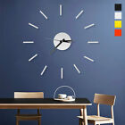 Modern Large Wall Clock Watch 3D Acrylic Art Sticker Home Bedroom Decor DIY Kits
