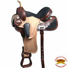 T206Am Hilason Western Dressage Flex Tree Barrel Racing Trail Saddle 14 15 16 17
