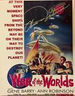 WAR OF THE WORLDS: Ann Robinson Autographed 8x10 Promo Poster. Includes COA.