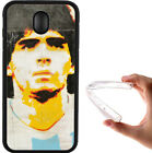 Cover Maradona Samsung S3 S4 S5 J3 J5 J6 J7 A3 A5 A7 S7 S8 S9 S10 in silicone