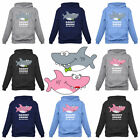 Mommy Shark Daddy Shark Doo Doo Family Matching Set Hoodie Cute Gift