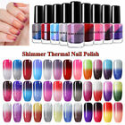 NICOLE DIARY Thermisch Farbwechsel Nagel Polish Colorful Glitzer Nail Varnishes