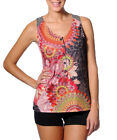 Smash Barcelona S-XXL UK 10-18 RRP ?41.50 Nutria Vest Top Bright Floral