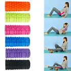 Yoga foam roller high density texture for massage  workout  fitness Pilates phys image