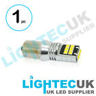 CANBUS BA15S 382 1156 BAYONET WHITE LED DRL REVERSE LIGHT BULB ERROR FREE 12 24V
