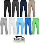 NEW Slazenger Mens Golf Pants Regular Fit Sport Casual Trousers Bottoms