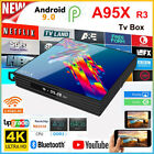 A95X R3 Android 9.0 Smart 4K TV Box RK3318 4GB 64GB 2.4&5G Wifi Full 1080P Media