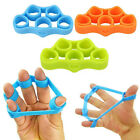 Silicone Hand Grip Strength Finger Gripper Trainer Resistance Band Stretcher 1Pc image