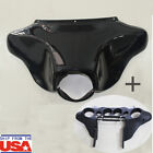 ABS Plastic Batwing Inner Outer Fairing For Harley Davidson Touring 1996 - 2013 $99.99 USD on eBay