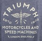 ⭐NWT⭐Lucky Brand Men's Triumph Motorcycles Grease Guts & Glory SZ Med T-Shirt $24.0 USD on eBay