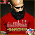 FREESHIP San Francisco 49ers City Style SF T-Shirt Red Cotton For Men Size S-5XL $19.99 USD on eBay