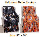 "Soft Plush Warm All Season Halloween Throw Blankets - 50"" X 60"" - Great Gift !!! image"