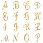 1 Pc Unisex Rhinestone English Letters Alphabet A-Z Brooch Pin Ornament Novelty