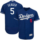 Corey Seager #5 Los Angeles Dodgers Men's Majestic Royal Home Game Jersey on Ebay