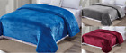 Luxury™ Velvet Plush Solid Bed Blanket Warm Fleece Microfiber Bed Throw Blanket  image