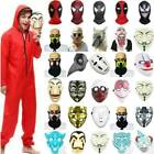 Christmas Mask Prop Spiderman Wolf Zombie Clown Killer Party Cosplay Fancy Dress