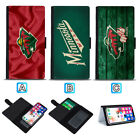 Minnesota Wild Sliding Flip Case For iPhone 6 6s 7 8 Plus X Xs Xr Max $9.49 USD on eBay