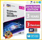 BITDEFENDER TOTAL SECURITY 2019 / 2020 | 3 YEARS | DOWNLOAD - INSTANT DELIVERY🌟