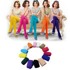 Women Candy Colors Opaque Footed Slim Socks Tights Pantyhose Stockings Novelty