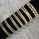 Kyпить 10K Solid Yellow Gold Necklace Rope Chain 16'' - 30