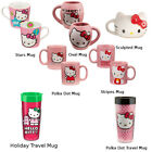 Hello Kitty Coffee Mug (Choose Your Design) Red Bow Cat Gift image