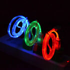 3 Pack Visible LED Light Micro USB Data Sync Charger Cable Cord For Samsung S10