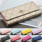 Womens Ladies Long Wallet Credit Card Holder Case Money Bag Coin Purse Clutch image
