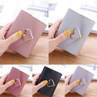 Womens Faux Leather Small Mini Wallet Card Holder Clutch Case Purse Christmas image