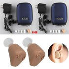 New Rechargeable Digital Hearing Aids Mini In Ear Adjustable Tone Amplifier