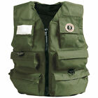 Mustang Inflatable Fisherman Vest, Olive