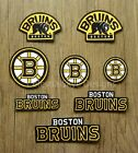Iron On Sew On Transfer Applique Boston Bruins Handmade Cotton Patches $5.49 USD on eBay
