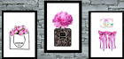Set of 3 Coco Wall Art Prints A4 Dressing Room Bedroom Poster UK  A5avail