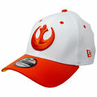 Star Wars Rebel Fighter New Era 39Thirty Fitted Hat White $39.98 USD on eBay