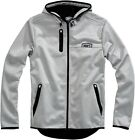 100% Mission Hooded Zip Jacket Gray Mens All Sizes $168.86 AUD on eBay