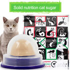 Healthy Cat Solid Nutrition Snacks Catnip Sugar Candy Licking Toys Energy Ball x