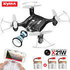 Drones With Camera WIFI FPV Syam X21W Mini 2.4Ghz Quadcopter Indoor Outdoor Toy