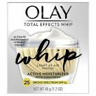 Light Face Moisturizer W/SPF 25 by Olay Total Effects Whip Open Box image