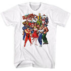 Final Fight Group Shot Men's T-shirt video game poster OFFICIAL Capcom Merch