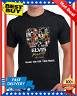 65 Years Of Elvis Presley Thank You For Your Music Men TShirt Regular Size M-3XL