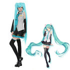 Hatsune Miku Vocaloid Anime Dress Costume Set For Anime Cosplay Party Suits