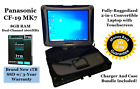 Toughbook CF19 MK7 Intel i5 3.4GHz 8GB RAM NEW 1TB SSD Win 10 Pro Touch 4640 Hrs