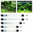 Aquarium UV Sterilizer Light Submersible Water Clean Lamp 13W for Pond Fish Tank