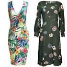 Women Dresses Floral Bodycon Holiday Ex-High Street Beach Long Plus Sizes 16-24