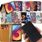 For LG Smartphones Flip Leather Card Wallet Stand Cover Phone Case