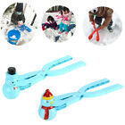 Внешний вид - Snowman Shape Snowball Making Tools Clip Outdoor Sports Snow Sand Mold Tool