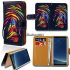 For Samsung Galaxy S1 S2 S3 S4 S5 Flip Leather Wallet Stand Cover Phone Case