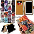 For UMi Smartphones Flip Leather Card Wallet Stand Cover Phone Case +Strap
