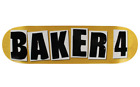 BAKER Skateboards Baker 4 Skate Video OG Assorted 8.38 Deck image