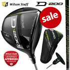 Wilson Staff D200 Superlight Men's Adjustable Golf Driver (Regular/Senior Flex)
