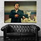 #07 Scarface Mob Mafia Gangster Movie Poster Canvas Ready to Hang Framed